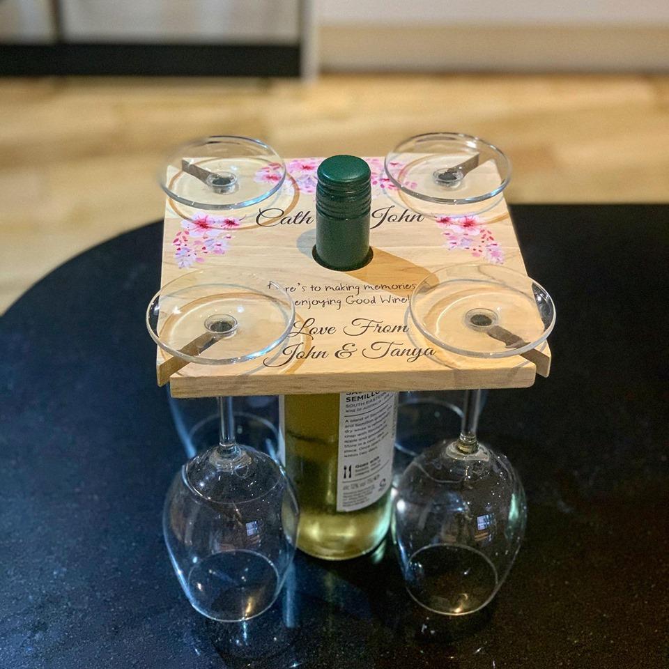 Personalised Wine Board
